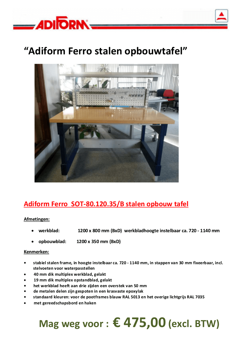 Adiform_Ferro_SOT-80.120.35-B_stalen_opbouwtafel_voorkantje17