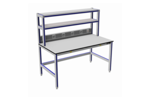 Aluminium Tafels met 2x opbouw