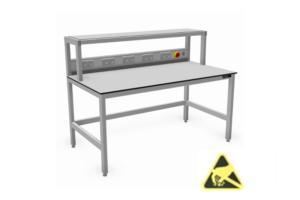ESD-veilige tafels met opbouw