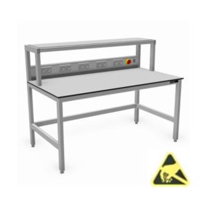tafels-met-opbouw_esd_aluminium_werktafels_ESD-veilig