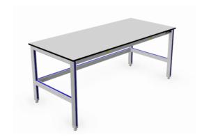 Aluminium Vlakke Werktafels