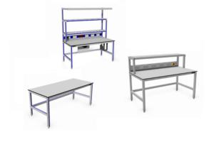 Aluminium werktafels Voorbeeldmodellen