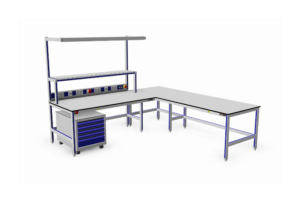 Wijze van aluminium tafels bouwen