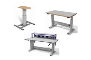In Hoogte Verstelbare Werktafels Voorbeelden Op Maat