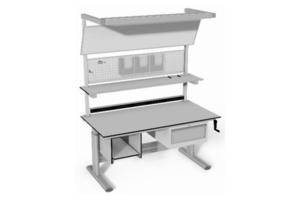 uitgebreide handmatig verstelbare controletafel