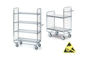 ESD-veilige trolleys serie 100