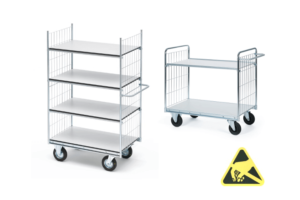 ESD-veilige trolleys serie 300