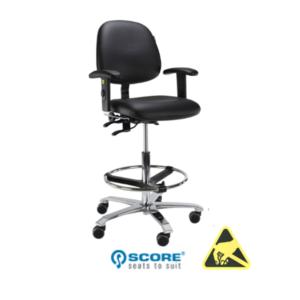 Model Ergo 2302 ESD-veilige stoel