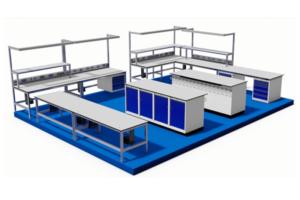 laboratorium voor medische apparatuur