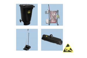 ESD-veilig afval en schoonmaken