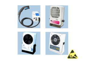 ESD-veilige ioniseerapparatuur