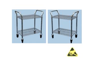 ESD-veilige trolleys