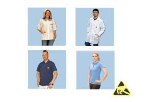 ESD-veilige werkkleding