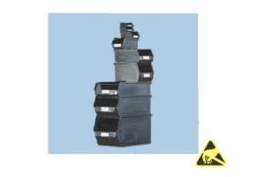 ESD-veilige magazijnbakken