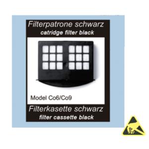 filtercassette standaard ESD-veilig