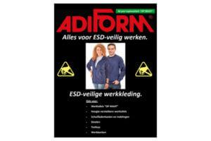 ESD veilige werkkleding