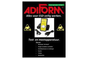 test en meet ESD veilig