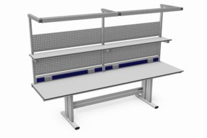 handmatig verstelbare tafel 2600 mm breed